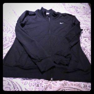 Black Nike women's dry fit   jacket